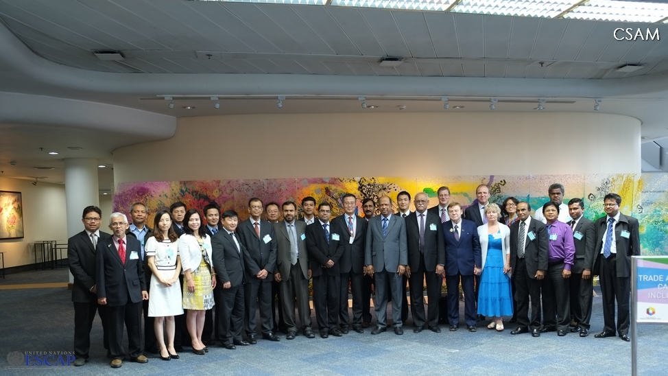 The Asian and Pacific Network for Testing of Agricultural Machinery (ANTAM) is launched, 18 November 2013, Bangkok, Thailand